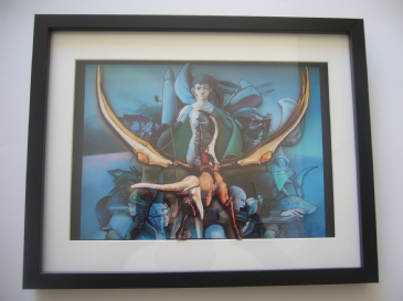 Panzer Dragoon Saga 3D Diorama Shadow Box
